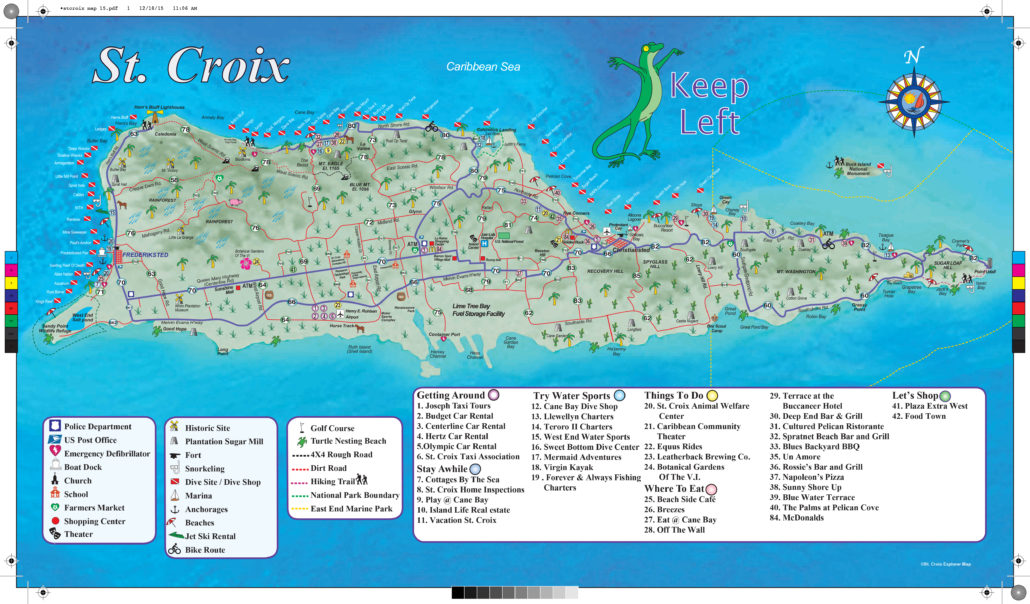2019 St Croix Explorer Map and Website